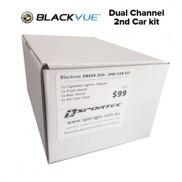 Blackvue 2nd Car Kit (Dual Channel)