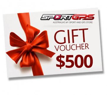 SportGPS $500 Gift Voucher