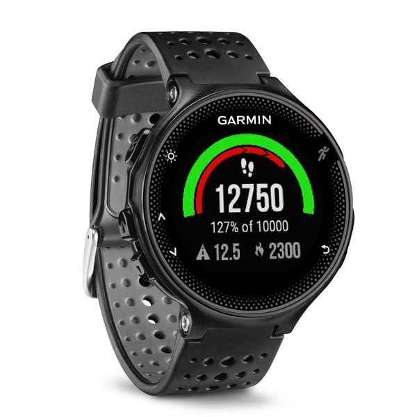 Garmin forerunner 235 black grey with wrist based heart monitor for Garmin watches