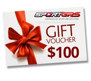 SportGPS Gift Voucher $100