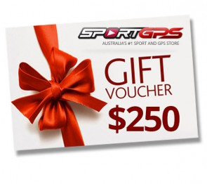 SportGPS $250 Gift Voucher