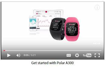 Polar A300 Video Tutorial