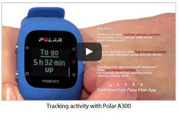 Polar A300 Video Tutorial