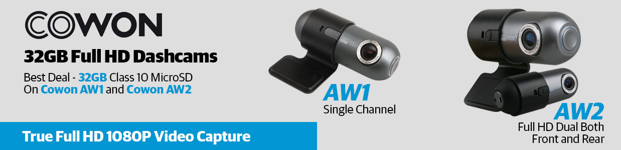 Cowon Dashcams