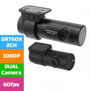 Blackvue DR750X-2CH - Dual Channel Dash Cam 1080p 60FPS