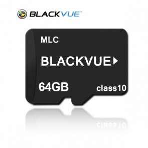 Blackvue 64GB MicroSD Card + SD Adapter