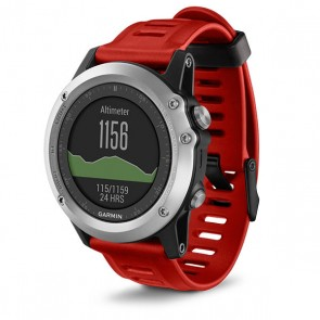Red Garmin Fenix 3