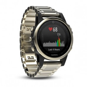 Garmin fenix 5S Champagne Sapphire with Metal Band