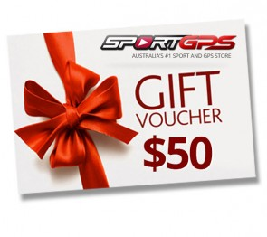 SportGPS $50 Gift Voucher