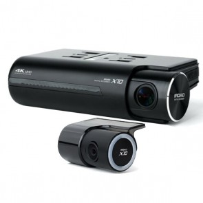 iRoad X10 4K UHD Dual Channel Dashcam