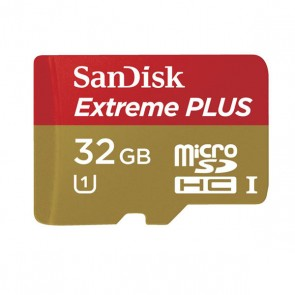 32GB SanDisk Extreme® PLUS Class 10