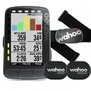 Wahoo Elemnt Roam GPS Bike Computer Bundle Stealth