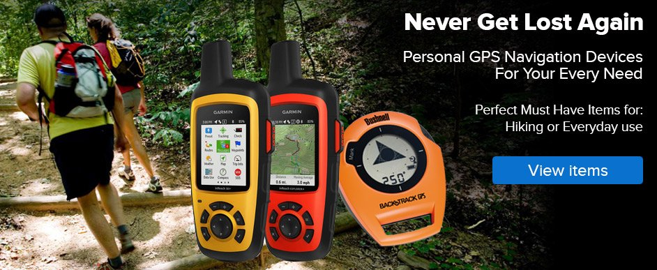 Outdoor And Hiking GPS